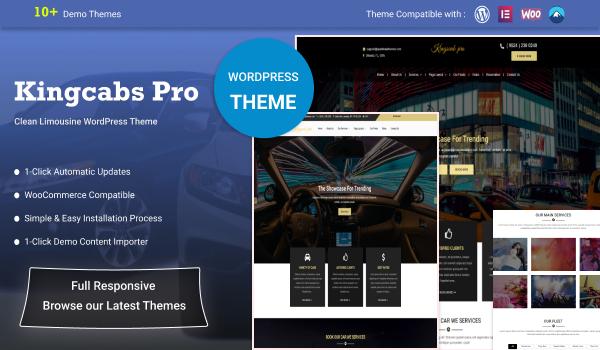 Premium Limousine WordPress Theme