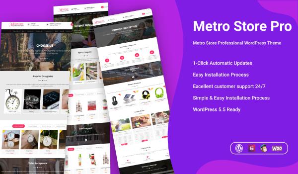 Metro Store Pro