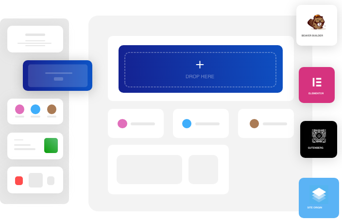 Drag & Drop Page Builder