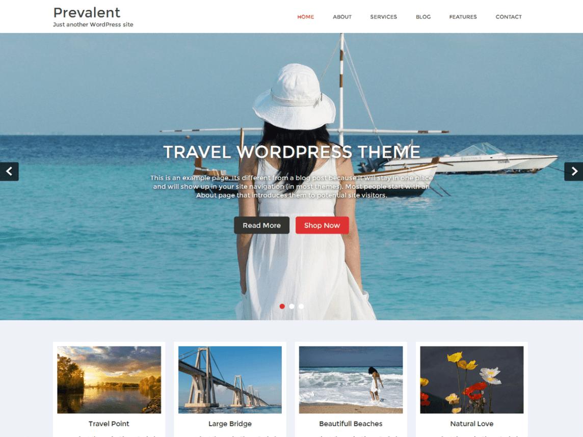 Free WordPress Travel Themes
