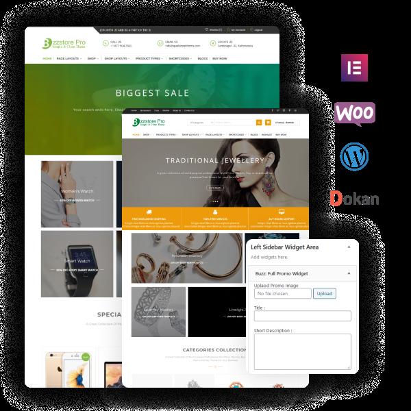 Buzzstore Pro – Best Premium eStore Theme On WordPress