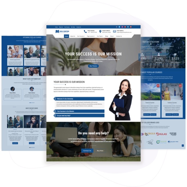 Educenter Pro – Premium Education  WordPress Theme