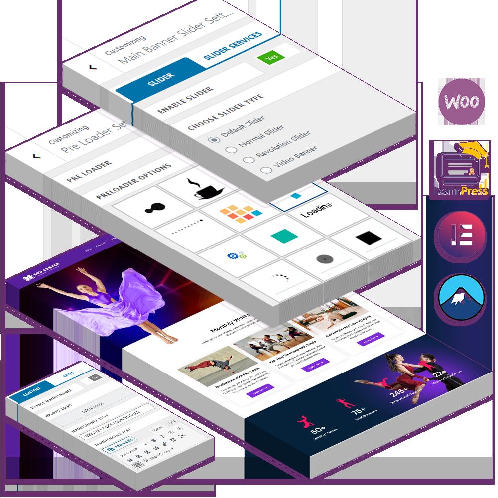 Educenter Pro – Premium Education  WordPress Theme