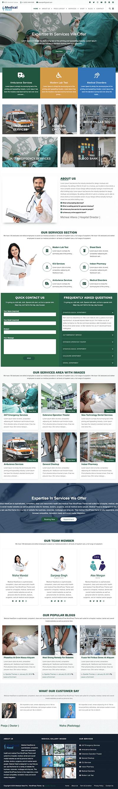 sparkletheme-medicalheedpro