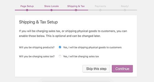 setup tax
