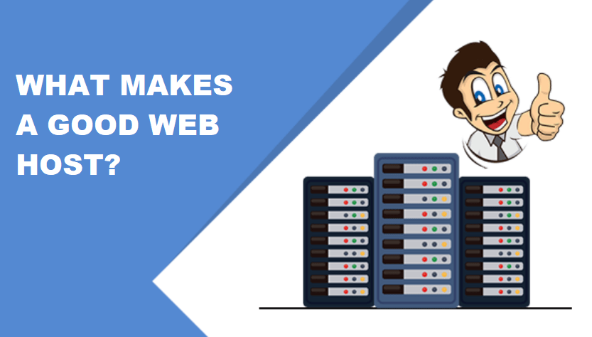 what makes a good web host