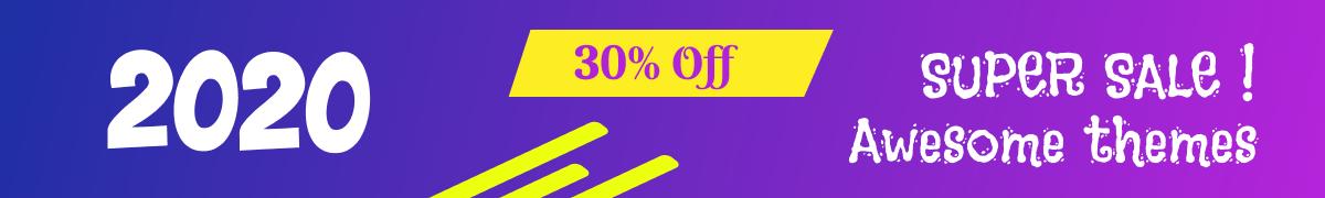 Theme discount coupon