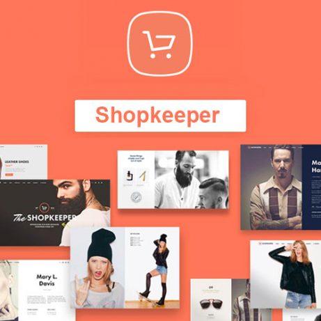 shopkeeper ecommerce wordpress themes