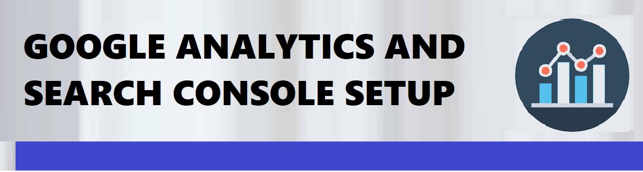 analytics and console setup