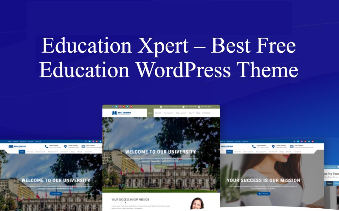 education xpert theme