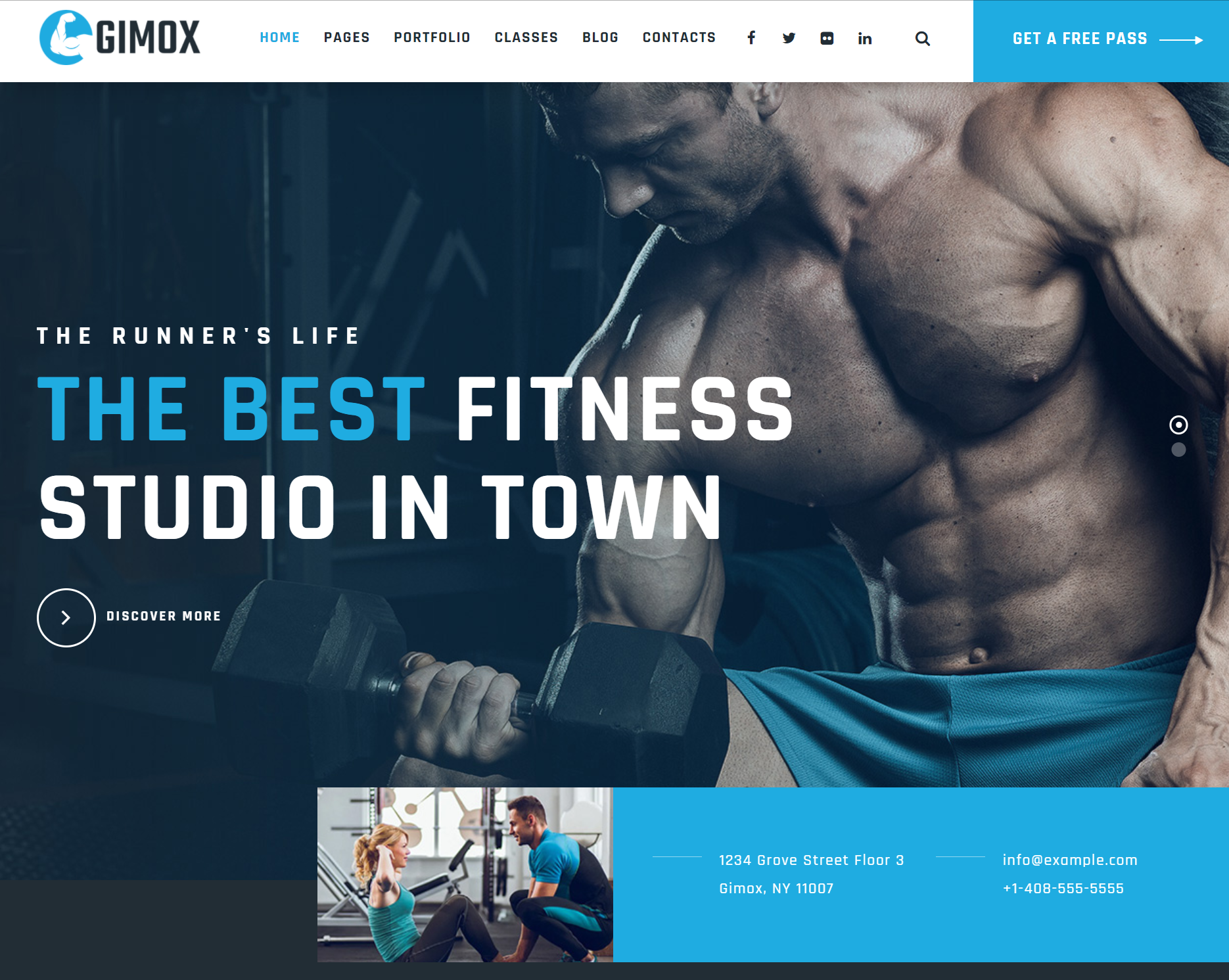 Premium WordPress Fitness Themes