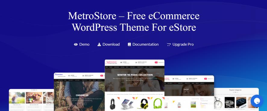 metrostore ecommerce wordpress themes
