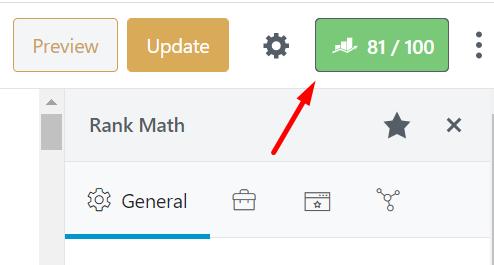 score card rank math