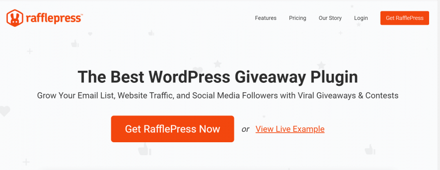 rafflepress giveaways
