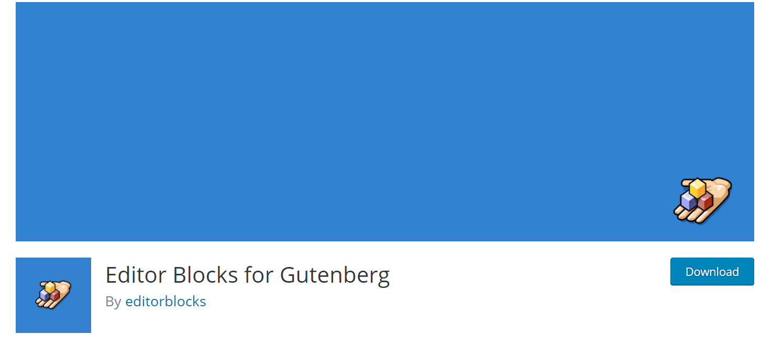 Editor Blocks for Gutenberg