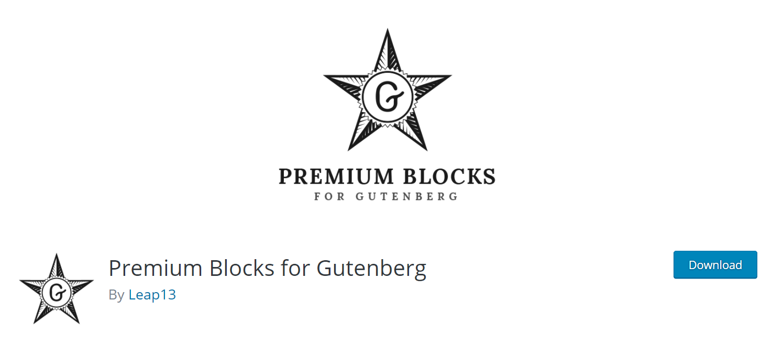 Premium Blocks for Gutenberg