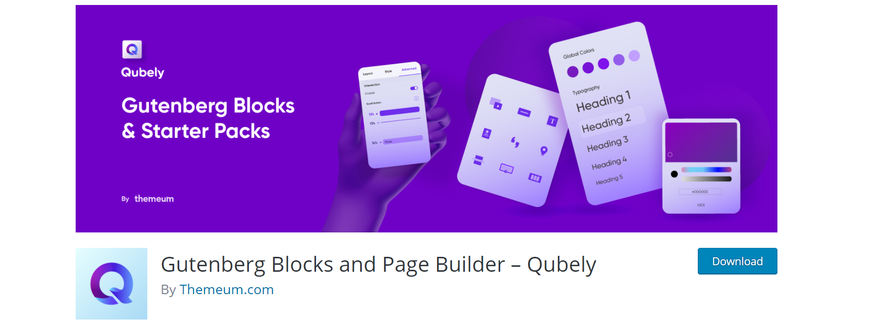 Gutenberg Block Plugin