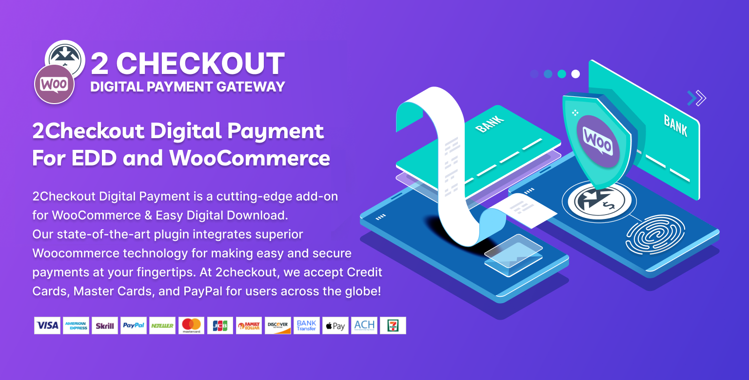 2Checkout Digital Payment for Woocommerce & EDD